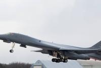 Amerykański bombowiec tankował w Powidzu