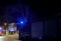 Wypadek w Trzemżalu! BMW uderzyło w drzewo!