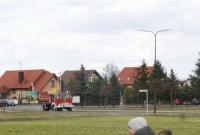 Pożar w Witkowie! Bardzo sprawna strażaków z OSP! Ugasili ogień w kilkadziesiąt sekund od zgłoszenia!