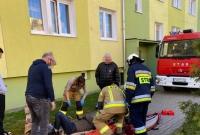 12-letni rowerzysta potrącił 60-latkę na chodniku! Kobieta trafiła do szpitala