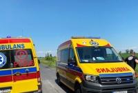 Wypadek w Miatach! 3 osoby trafiły do szpitali!