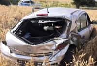Dachowanie w Działyniu - nowe informacje! Kierowca był kompletnie pijany! Kilka dni wcześniej pijany uciekał Policji i uszkodził kilka samochodów!