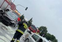 Zderzenie na skrzyżowaniu w Lednogórze