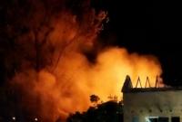 Pożary w Ruchocinku i Mielżynie