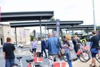 Zintegrowane Centrum Przesiadkowe i rower miejski oddane do użytku