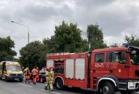 Zderzenie dwóch Citroenów na ul. Dalkoskiej