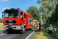 Tragiczny wypadek motocyklisty w Lulkowie!