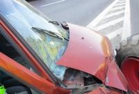 Tico uderzyło w ciągnik, który zawracał w niedozwolonym miejscu