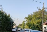 Bieg po zaparkowanych samochodach w Szczytnikach Duchownych