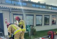 Próbna ewakuacja i ćwiczenia w firmie VELUX