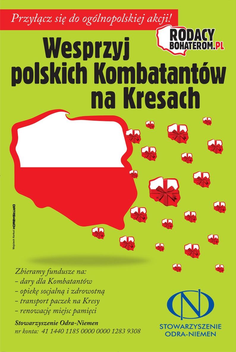 Rodacy Bohaterom - gnieźnieńska zbiórka dla Polaków na Wschodzie