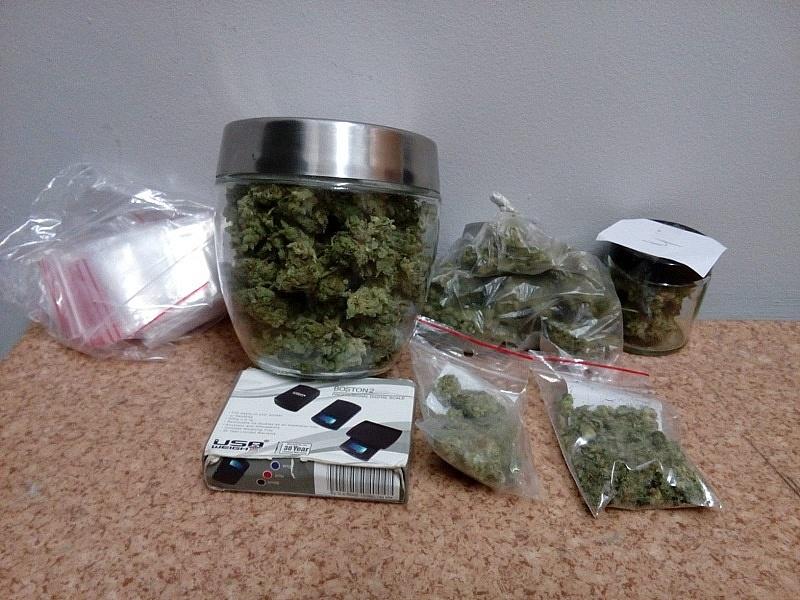 Policjanci ujawnili prawie 90 gramów marihuany