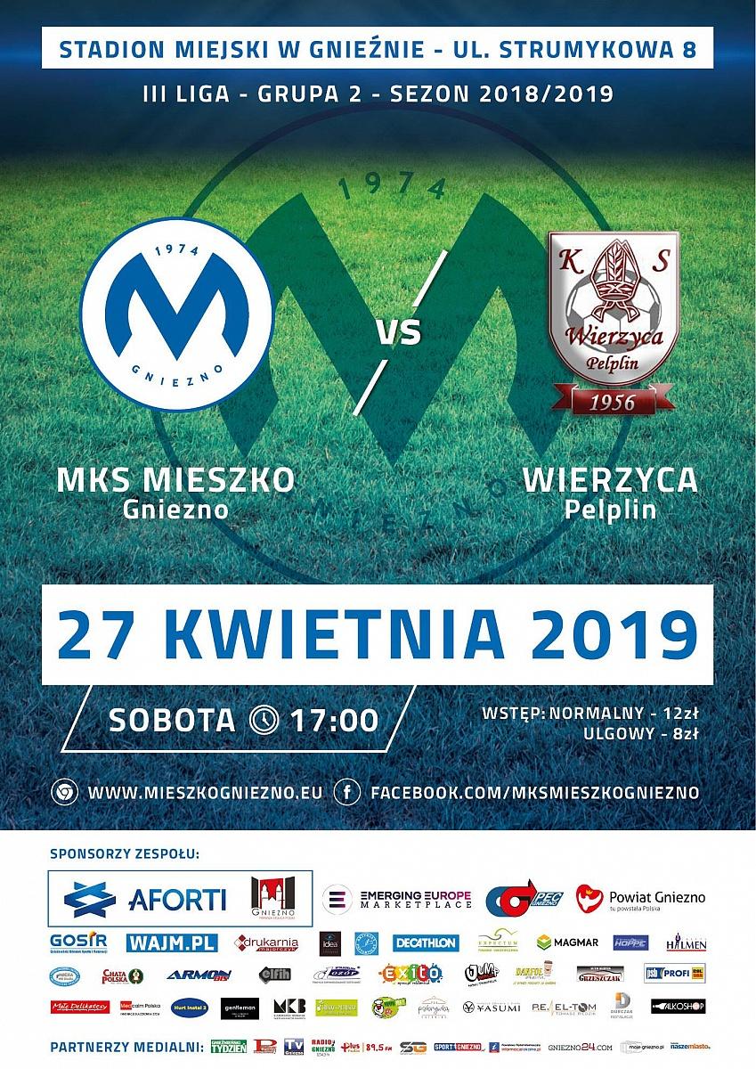 MKS Mieszko Gniezno - Wierzyca Pelplin już w sobotę