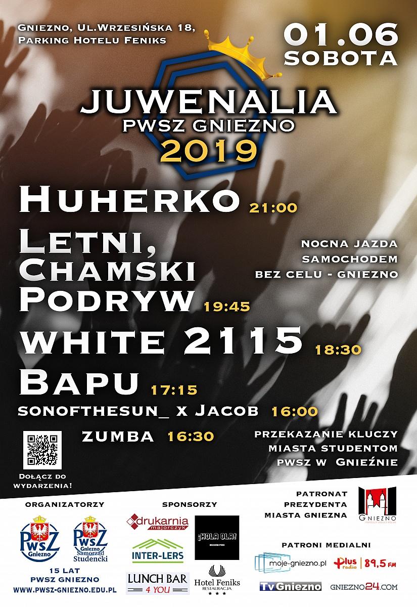 Juwenalia PWSZ Gniezno już 1 czerwca!