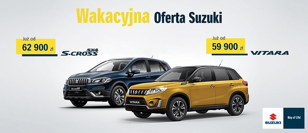 Wakacje gratis, czyli letnie Road Show Suzuki