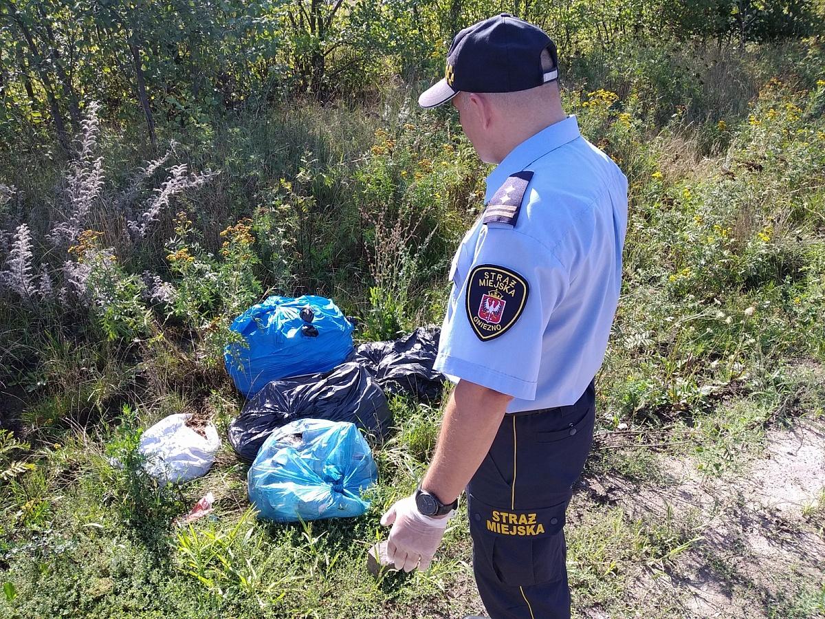 Gnieźnianie wciąż śmiecą - dzikie wysypiska nadal problemem