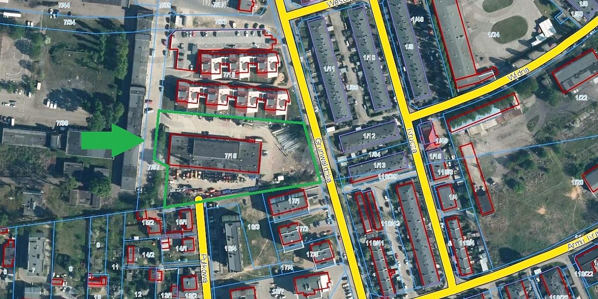 Miasto sprzedaje kolejną działkę pod budowę bloków. Tym razem przy ul. Grunwaldzkiej
