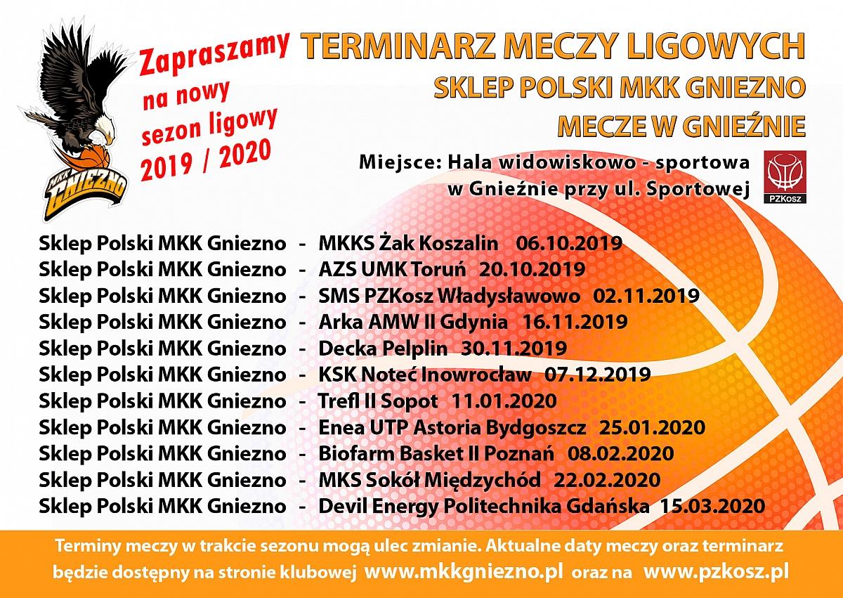 Ruszył sezon koszykarski w Gnieźnie! Znamy terminarz rozgrywek ligowych
