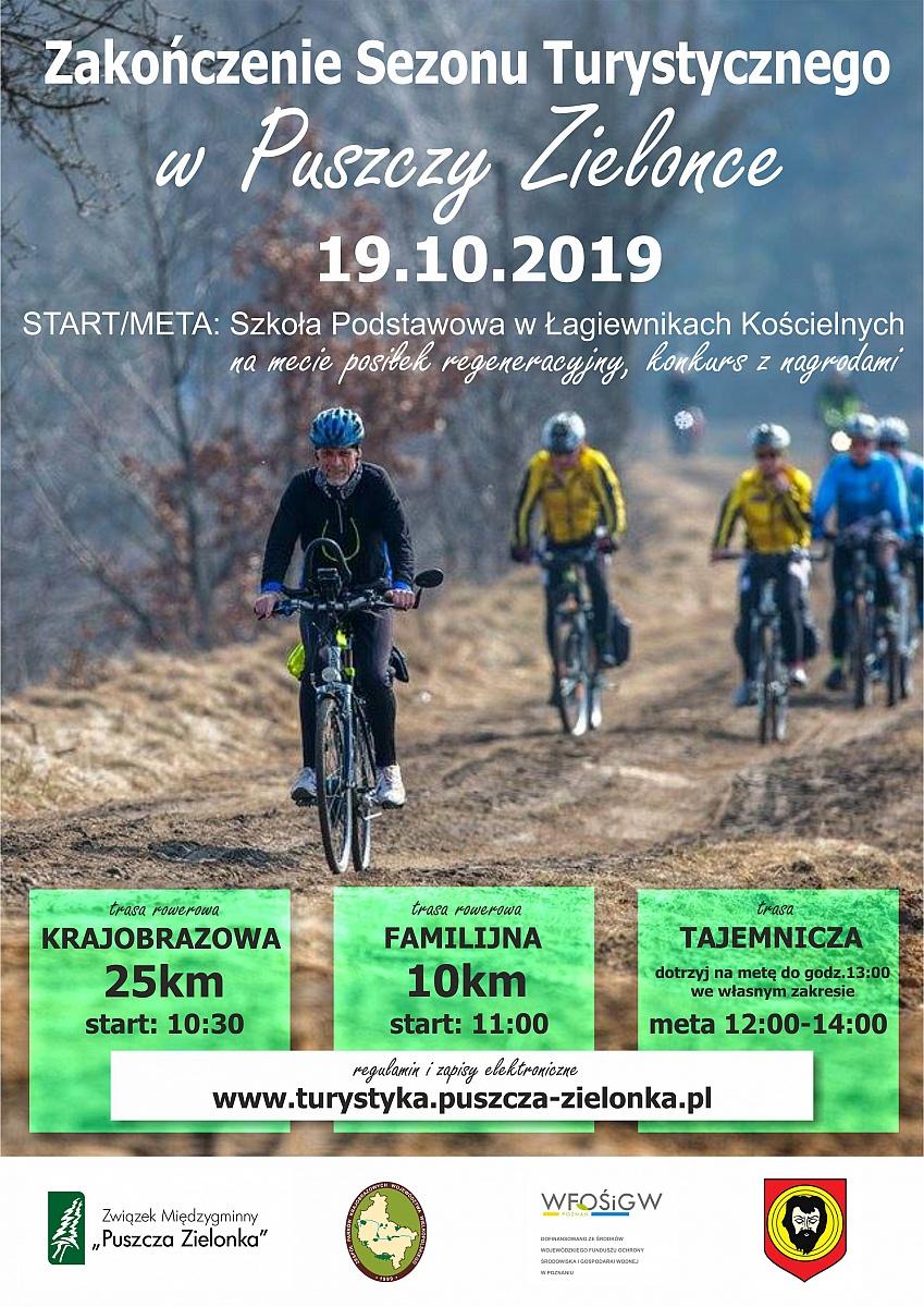 Rajd rowerowy przez Puszczę Zielonka