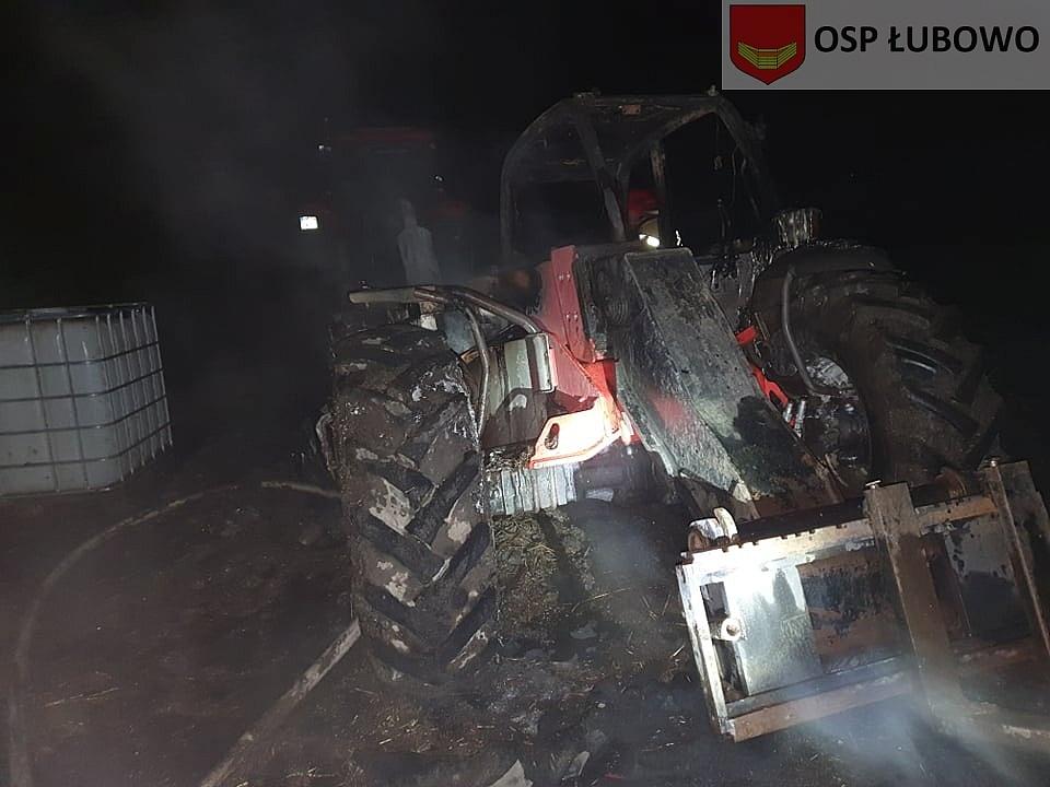 Pożar w gospodarstwie w Dziekanowicach! Udało się uratować zwierzęta