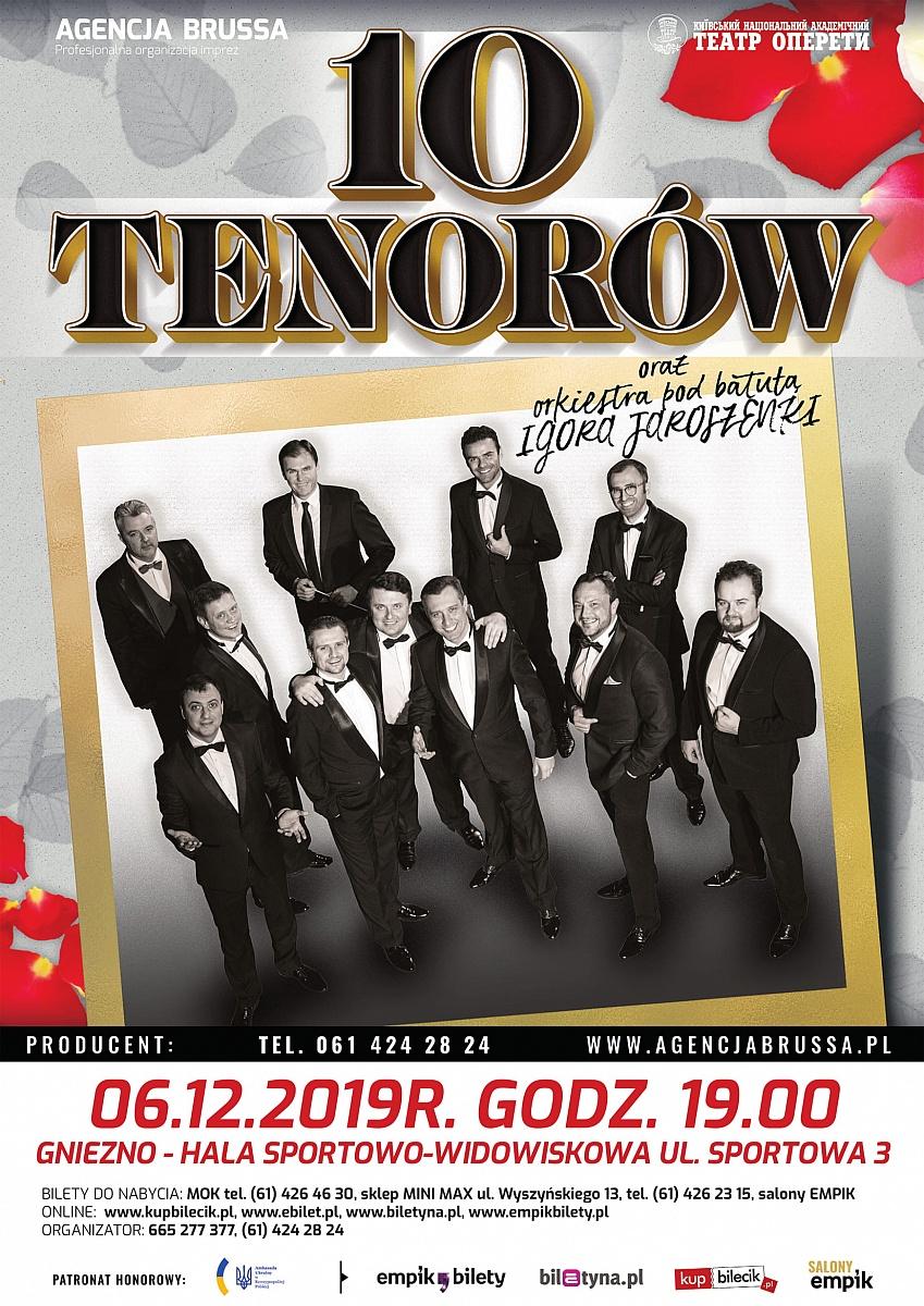 Koncert 10 Tenorów ponownie w Gnieźnie