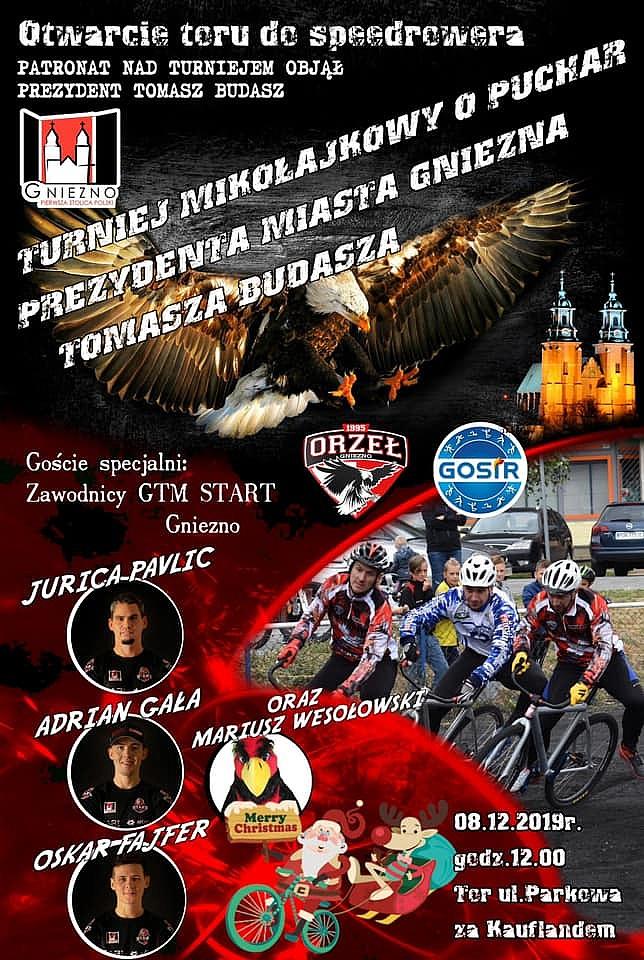 Turniej Mikołajkowy i otwarcie toru speedrowerowego już 8 grudnia
