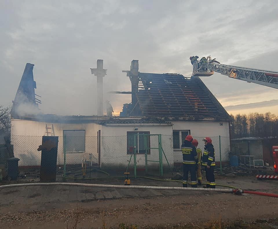 W Mnichowie spłonął dom