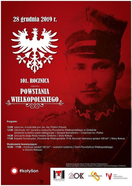 101. rocznica wybuchu Powstania Wielkopolskiego w Gnieźnie
