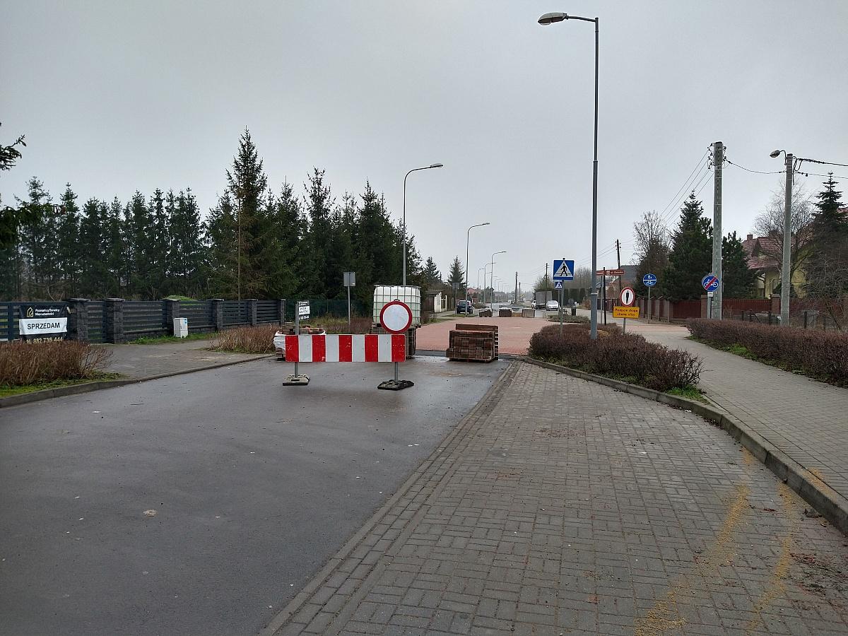 Prace przy ul. Orzeszkowej potrwają do 15 stycznia