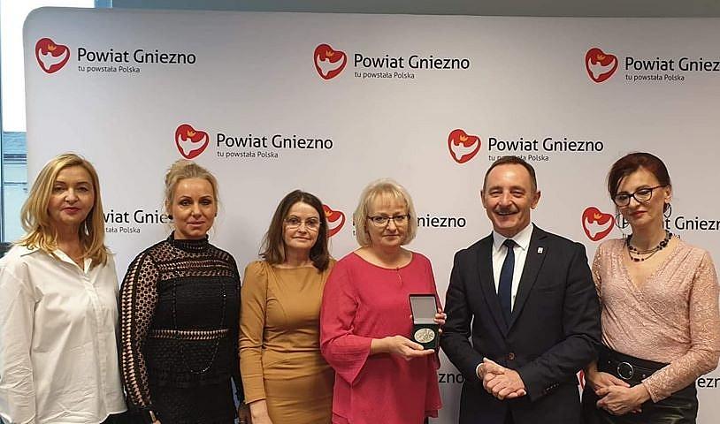 Joanna Wesołowska odznaczona Medalem Milenijnym