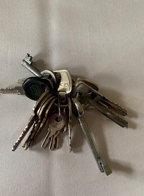 Na ul. Orzeszkowej znaleziono klucze