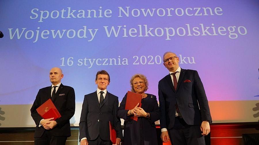 Marian Fluder doceniony także przez Wojewodę Wielkopolskiego