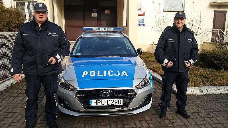 Nowy radiowóz dla policjantów z Kłecka