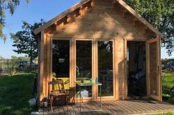 Domki ogrodowe, jako element praktyczny oraz estetyczny