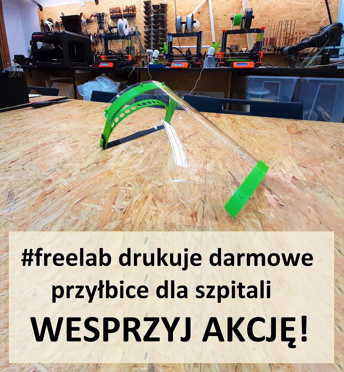 Stowarzyszenie z Wrześni drukuje maski dla szpitali, przychodni i ratowników medycznych - także w Gnieźnie!