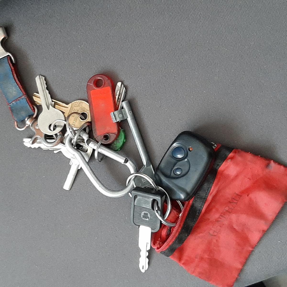 Znaleziono klucze