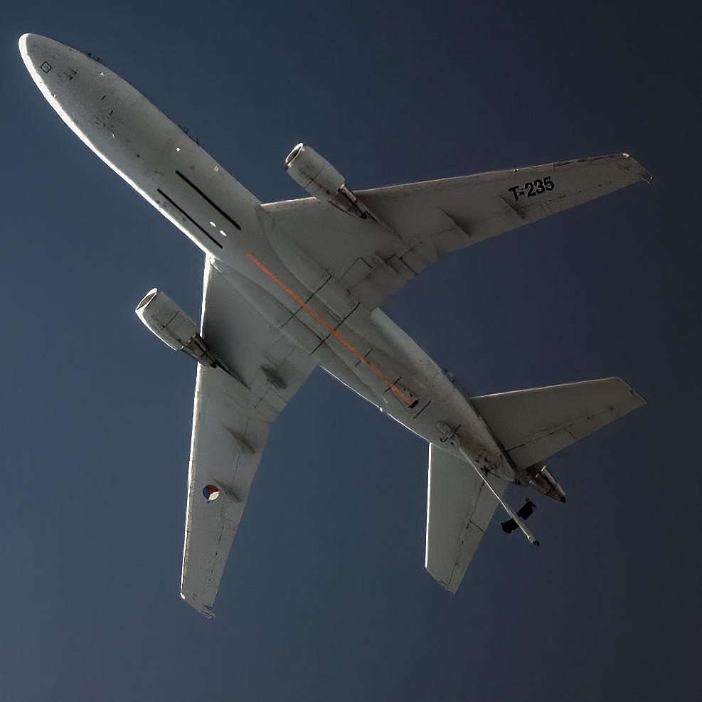 Tankowanie F-16 z latającej cysterny