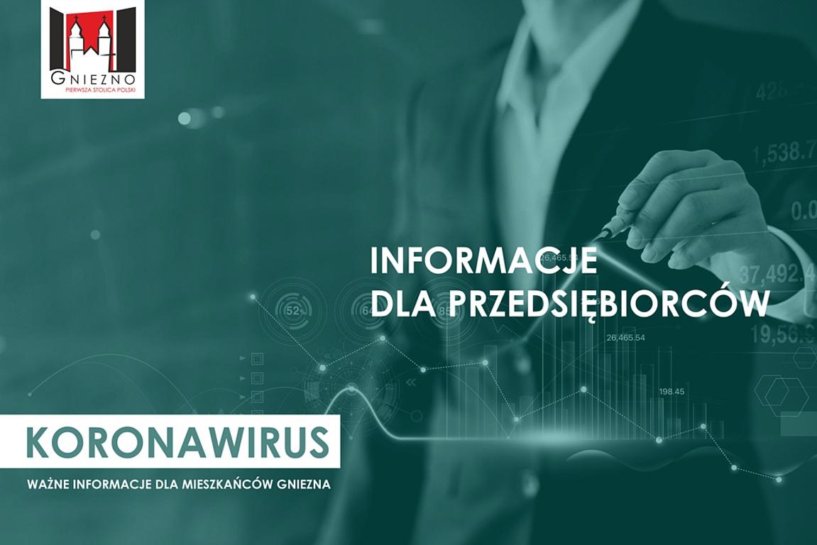 Koronawirus: pakiet pomocowy dla przedsiębiorców - aktualizacja 29 kwietnia