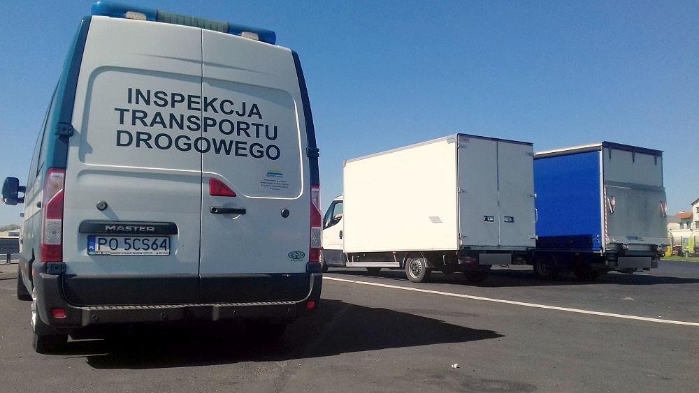 Pracowity weekend Wielkopolskiej Inspekcji Transportu Drogowego