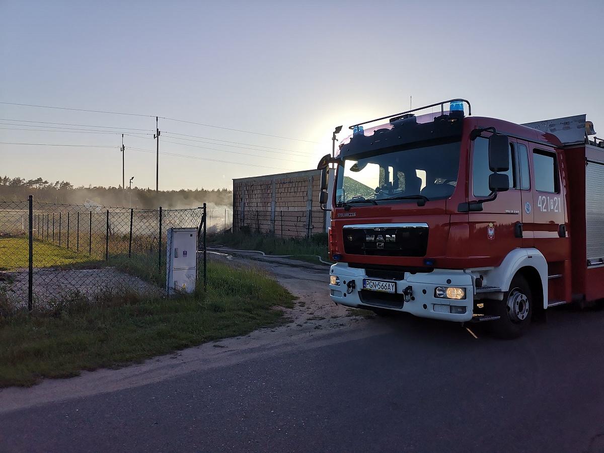 Pożar w Goczałkowie