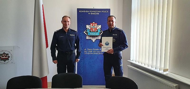 Mianowanie Zastępcy Naczelnika Wydziału Kryminalnego