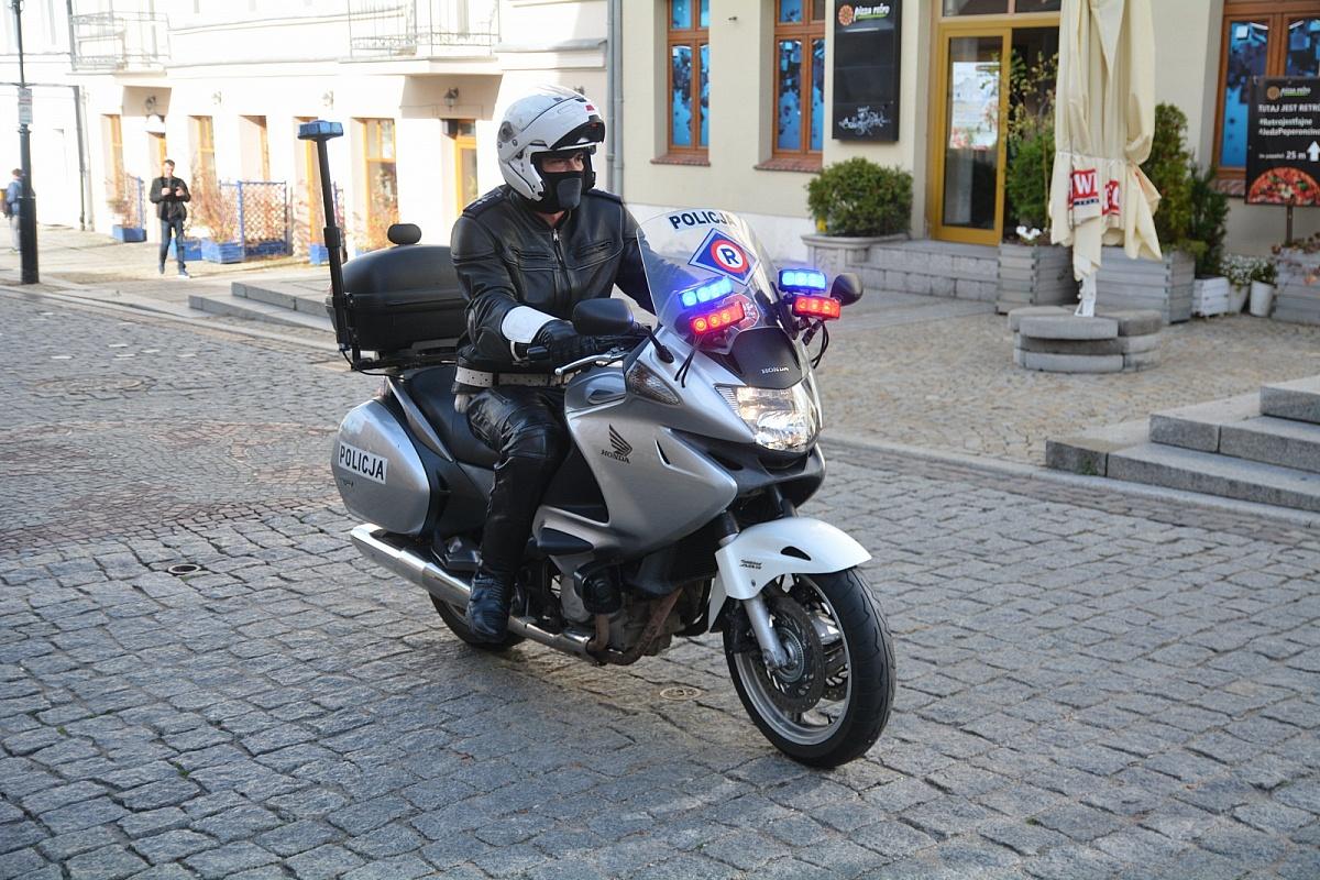 Bezpieczeństwo motocyklistów na drodze
