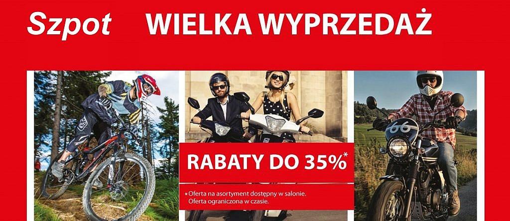 Rowery, skutery i motocykle marki Romet taniej nawet o 35%!