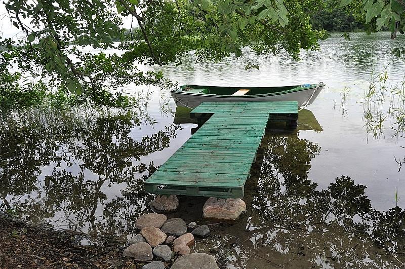 Policja i nadzór wodny nad Jeziorem Ostrowickim