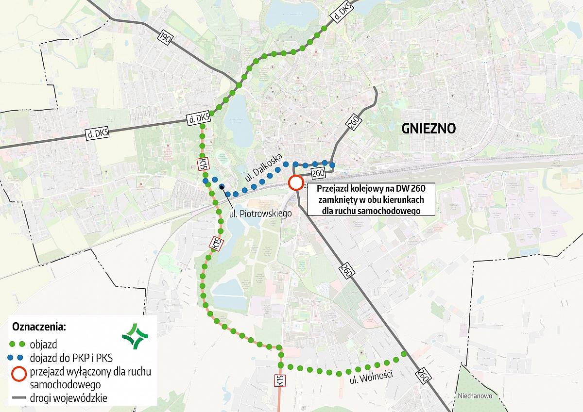Remont wiaduktu kolejowego - szczegółowe informacje