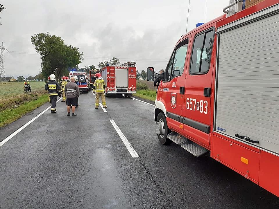 Kolejny wypadek w Czeluścinie! Na miejsce wezwano śmigłowiec LPR!