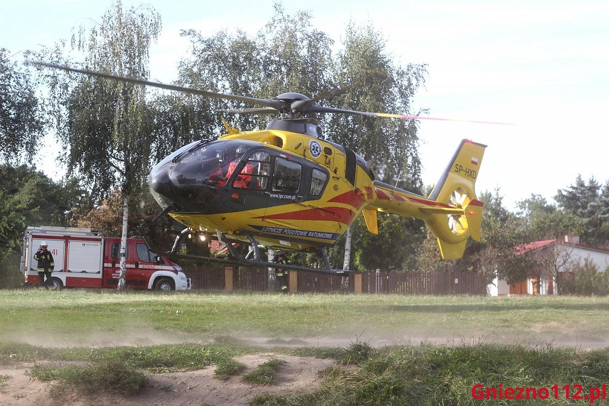Tragiczny wypadek na terenie ogrodów działkowych w Kalinie! Nie żyje 76-letni mężczyzna!