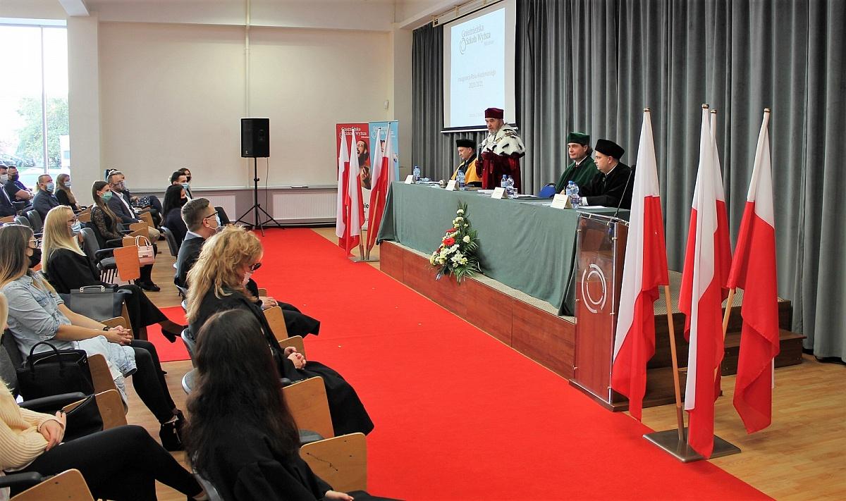 W Milenium zainaugurowano nowy rok akademicki