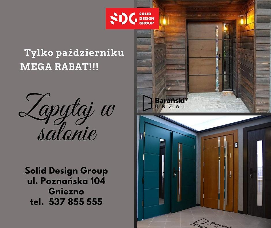 Mega rabaty na drzwi Barański w salonach Solid Design Group!