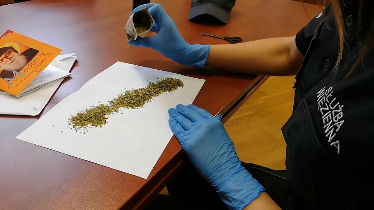 Kolejna próba przemytu narkotyków do Zakładu Karnego w Gębarzewie